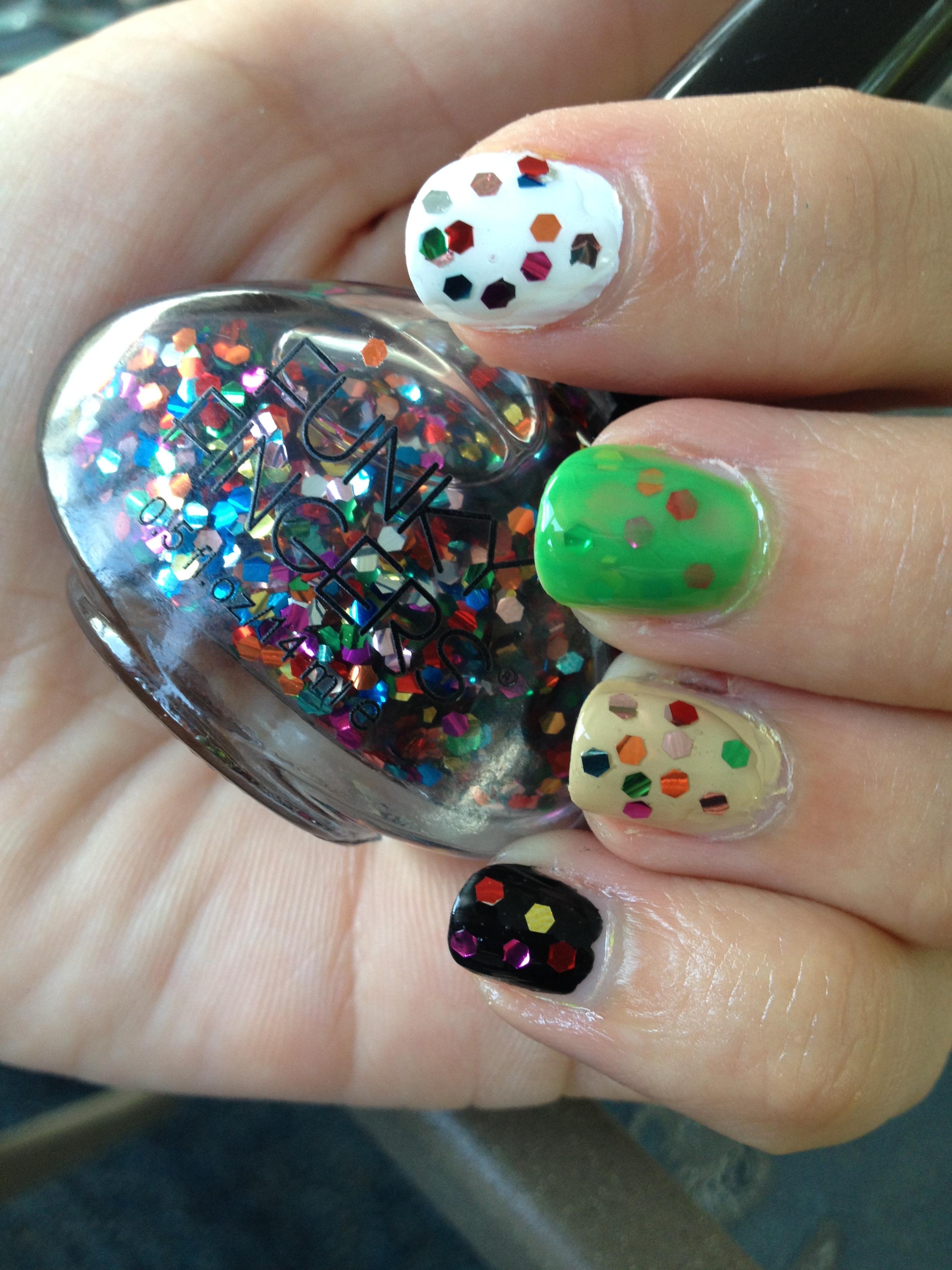 funky fingers nail polish website