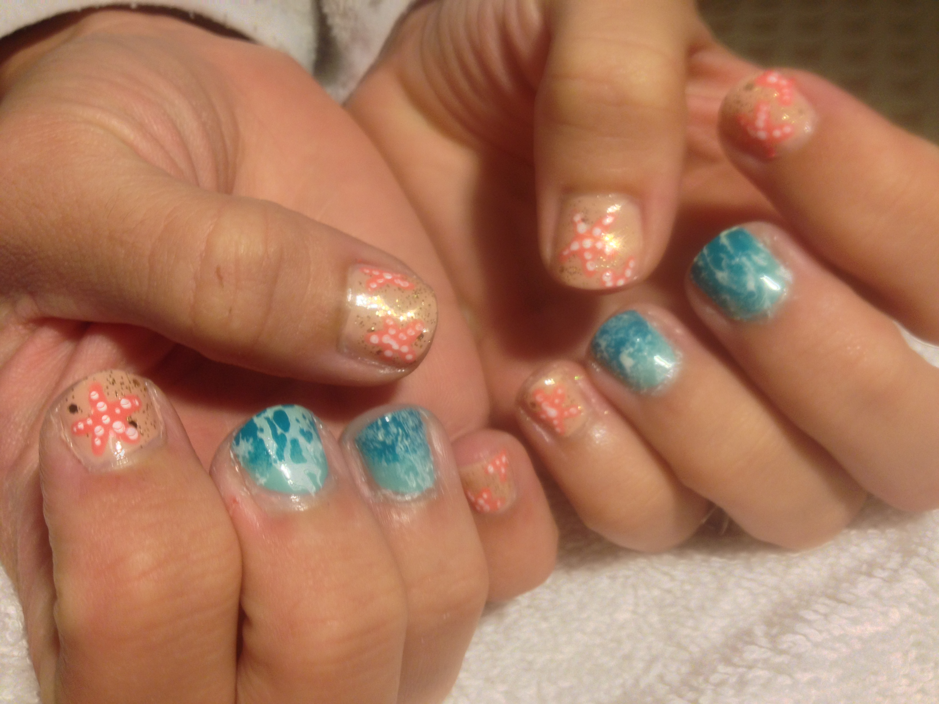 Beach Inspired Nail Art – Polish Me Snazzy