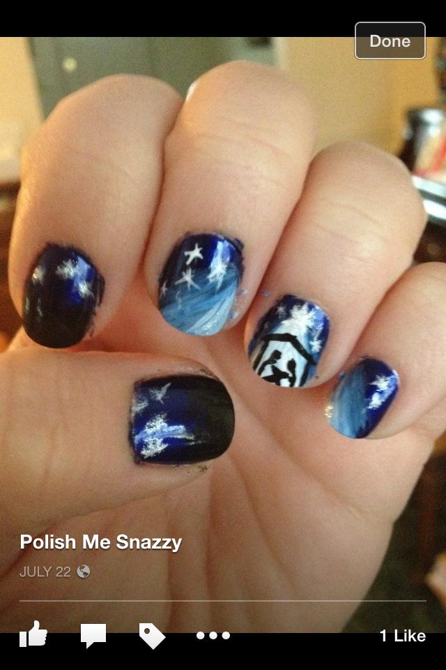 Nativity Nails – Polish Me Snazzy