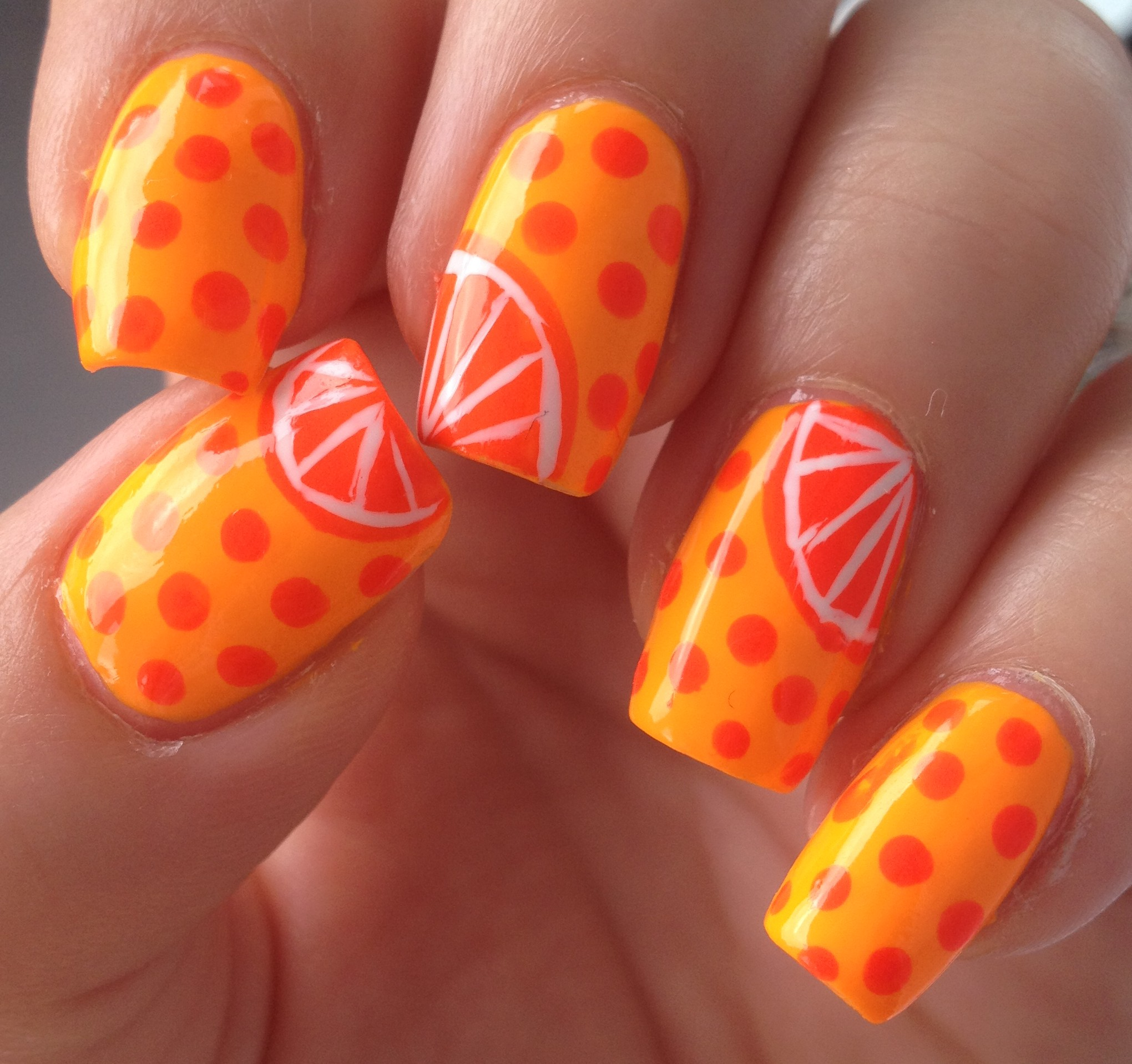 neon nails – Polish Me Snazzy