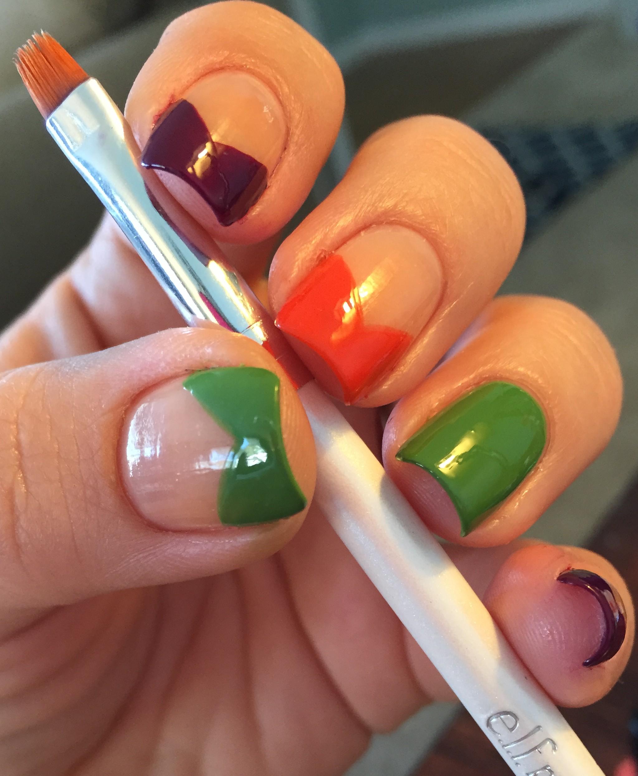 Monster of Frankenstein Nails – Polish Me Snazzy